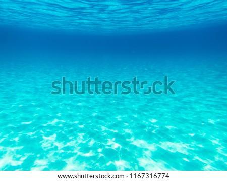 Amazing turquoise underwater in mediterranean sea on Sardegna island, Italy #1167316774