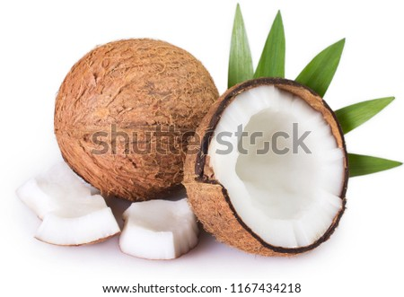 coconut isolated on white background #1167434218
