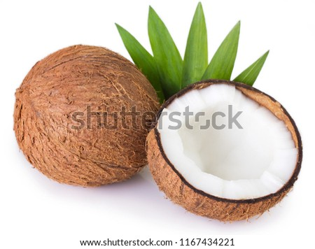 coconut isolated on white background #1167434221