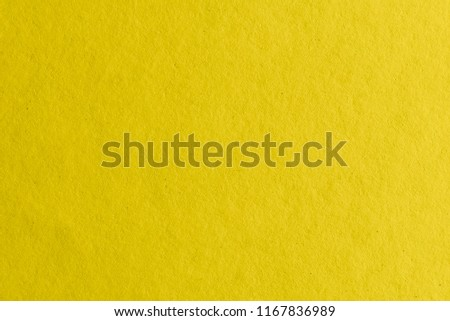 Yellow paper texture #1167836989