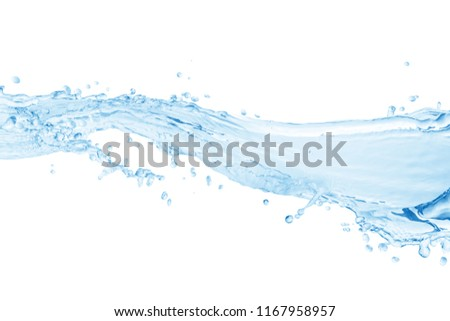 Water,water splash isolated on white background  #1167958957