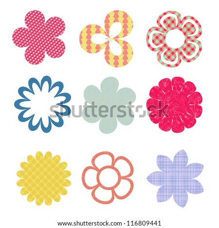 Flower clip arts