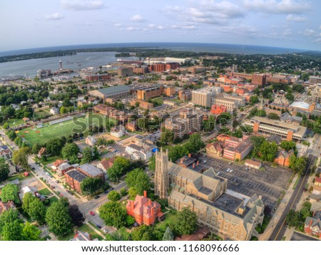 Erie is a Town in Pennsylvania on the Lake with the Same Name #1168096666