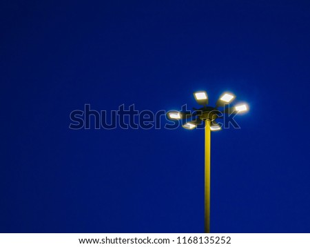 Street light by night #1168135252