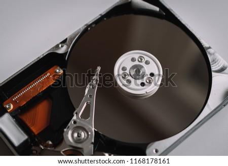 Hard drive detail #1168178161