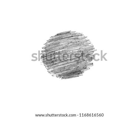various pencil strokes on white background #1168616560