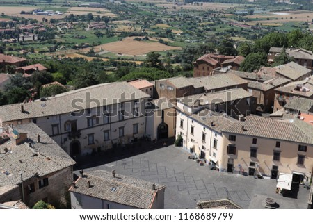 beautiful city of Orvieto, umbria, Italy #1168689799