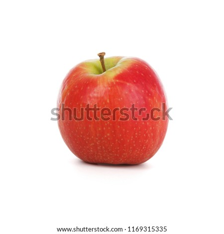 Red apple isolated on white background #1169315335