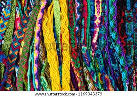 Mexican handcrafts, San Cristobal de las Casas, Chiapas Mexico  #1169343379