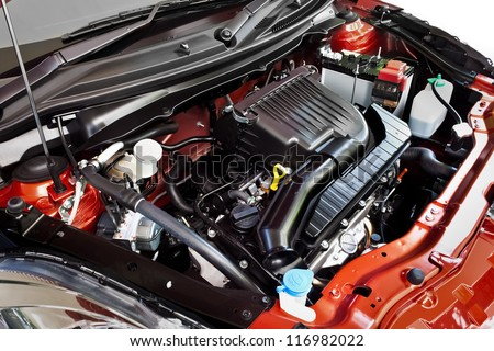 Automobile Engine #116982022