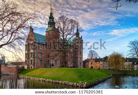 Rosenborg castle located in Copenhagen, Denmark #1170205381
