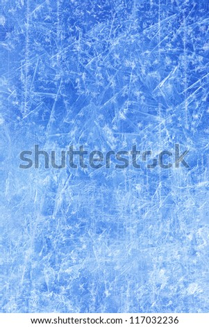 abstract Ice texture Winter background Royalty-Free Stock Photo #117032236