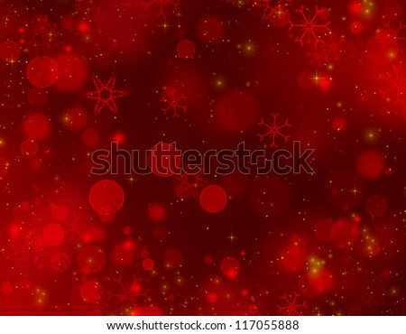 christmas background red