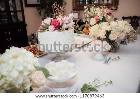 bridal shower cakr #1170879463