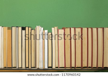 Collection of Books at Book Shelf #1170960142