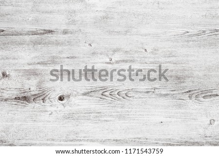 Grunge white wood texture. Light wooden table surface. Shabby chic background #1171543759