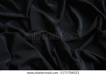 Black Fabric Texture Pattern Background #1171706023