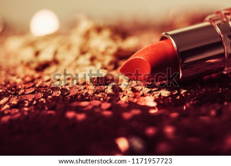 Photo Of Set Of Lipsticks In Colorful Tones  #1171957723