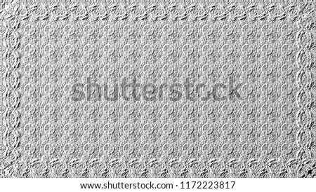 Black and white relief convex pattern for design #1172223817
