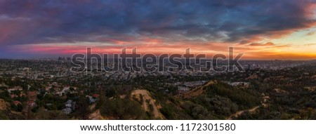 View from Griffith Observatory #1172301580