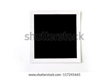 picture frame instant pack film
