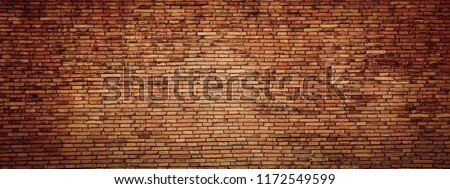red brick wall texture grunge background #1172549599