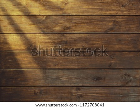 brown wooden plank desk table background texture top view #1172708041