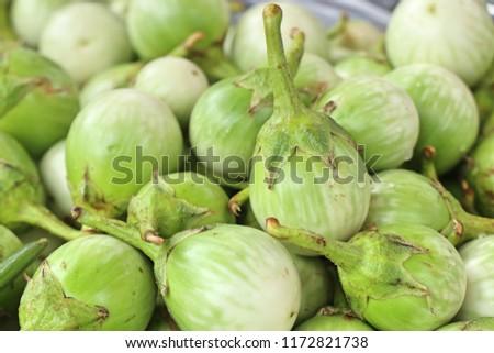 eggplant at street food #1172821738