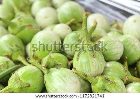 eggplant at street food #1172821741