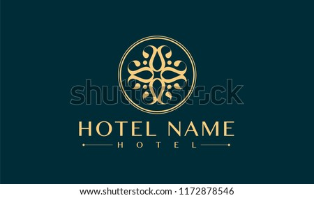 luxury hotel logo  #1172878546