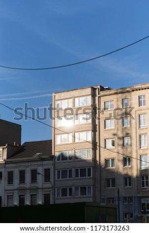 City Architecture Sunshine #1173173263