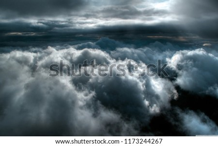 clouds and clouds #1173244267