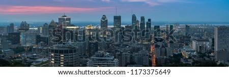 montreal, Canada cityscape