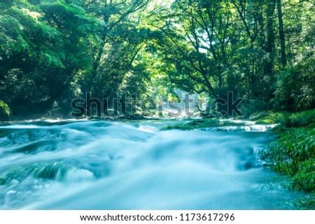 Kikuchi Valley, Kumamoto Japan. #1173617296