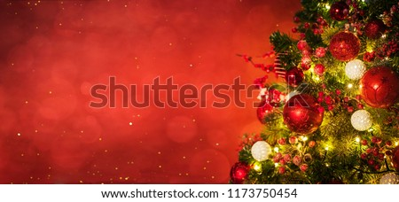 Christmas and New Year holidays background  #1173750454