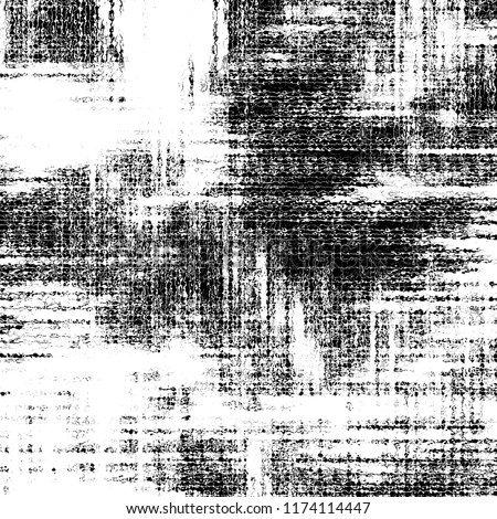 Black and white grunge pattern for design and background #1174114447