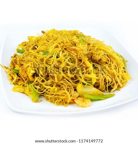 Singapure Style Fried Rice Vermiceli #1174149772