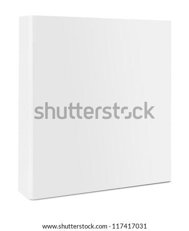 Blank case binder Royalty-Free Stock Photo #117417031