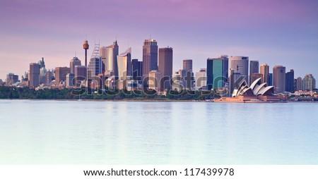 Panoramic view of Sydney