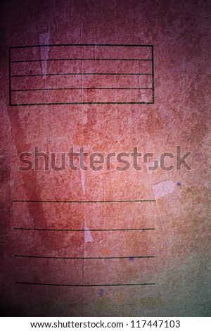 red old paper textures - perfect background with space #117447103