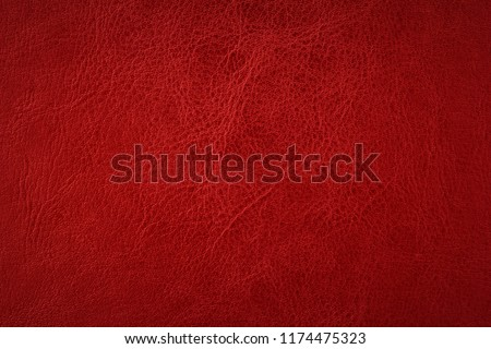 Red elegance leather texture for background with visible details    Royalty-Free Stock Photo #1174475323
