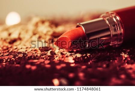 Lipstick. Fashion Colorful Lipsticks #1174848061