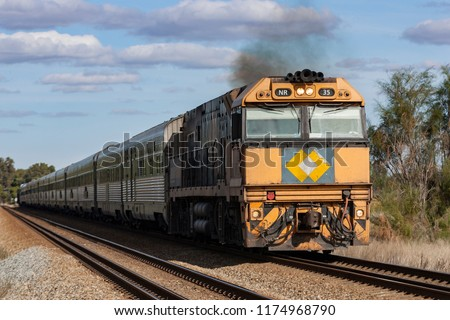 indian pacific train #1174968790
