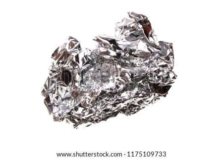 foil isolated on white background #1175109733