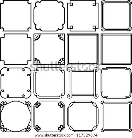 Simple frames (set 1) #117529894