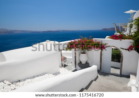 Santorini island in Greece #1175416720
