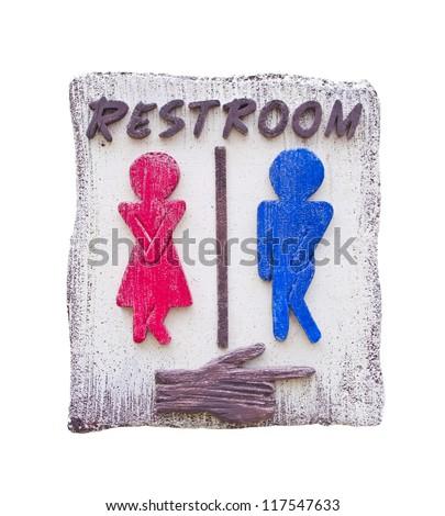 funny toilet symbol Royalty-Free Stock Photo #117547633