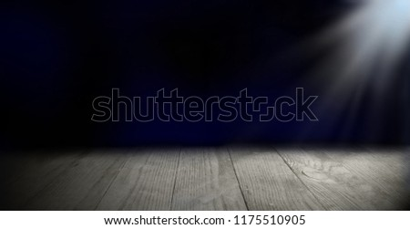 advertising space with wooden boards background #1175510905