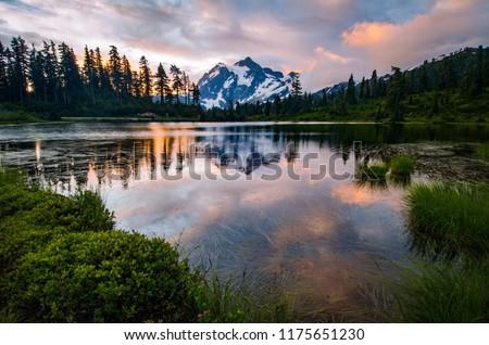 Mount Shuksan views