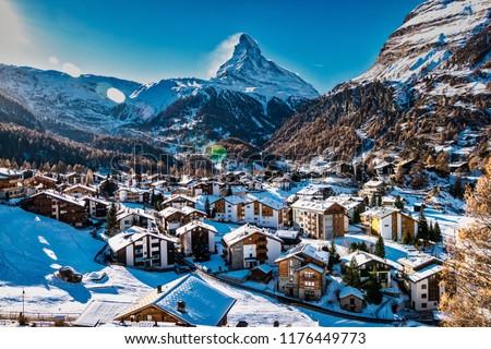 Zermatt & Matterhorn Mountain #1176449773